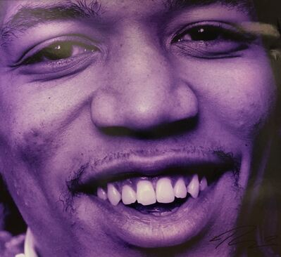 Roberto Rabanne, 'Jimi Hendrix Purple Portrait ', 1967 London