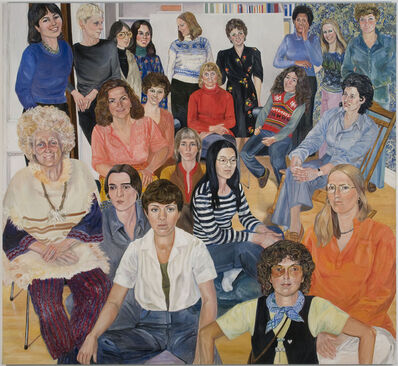 Sylvia Sleigh, 'AIR Group Portrait', 1977