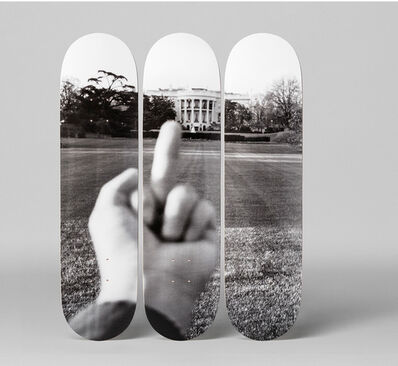 Ai Weiwei, 'White House HS Set of 3 , Triptych, Celebrating Trump's One hundred days Extremely Scarce', 2017