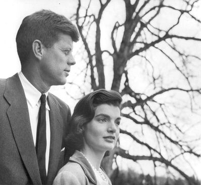 Louise Dahl-Wolfe, 'Senator John F. and Jacqueline Kennedy at their home in Virginia', 1953