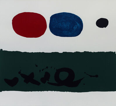 Adolph Gottlieb, 'Green Foreground', 1972