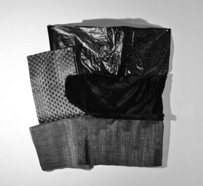 Dominique Duroseau, 'Interaction Juxtapositions, pursuit [Black on Black on Black with Black series]', 2019 -2020