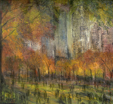 Layla Fanucci, 'New York Central Park Opus 880'