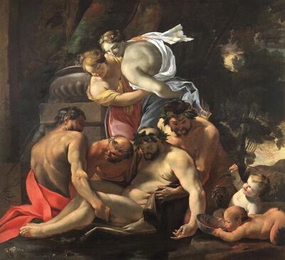 Nicolas Chaperon, 'Bacchanal'