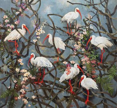 John Alexander, 'Ibis and Wonderland', 2019