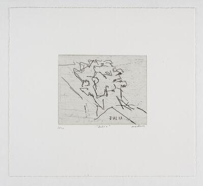 Frank Auerbach, 'Julia', 1994