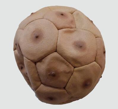 Nicola Costantino, 'Pelota de fútbol de tetillas masculinas', 2000