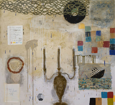 Squeak Carnwath, 'Risk is Not', 2013