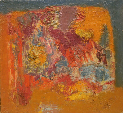 Ralph Wickiser, 'Untitled Abstract', 1960