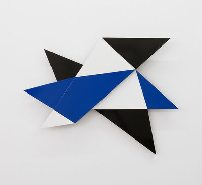 Alejandra Laviada, 'Folded Origami in Blue', 2019