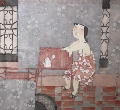 Shi Jing, 'A Sip', 1993
