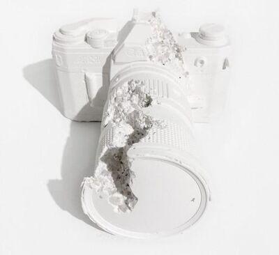 Daniel Arsham, '02 Future Relic (SLR Camera)', 2014