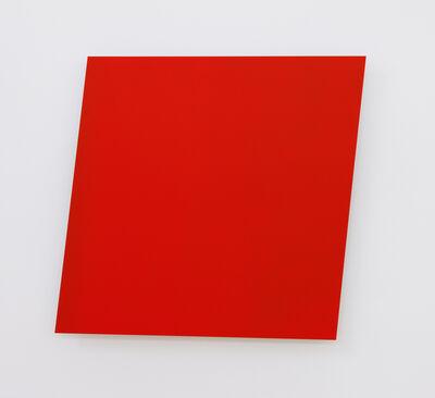 Ellsworth Kelly, 'Red Panel', 1982