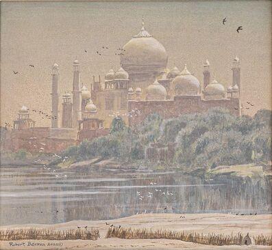 Robert Bateman, 'Taj with Birds', 2002
