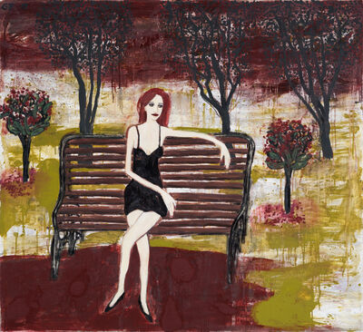 Gary Pearson, 'Woman on a Park Bench', 2020