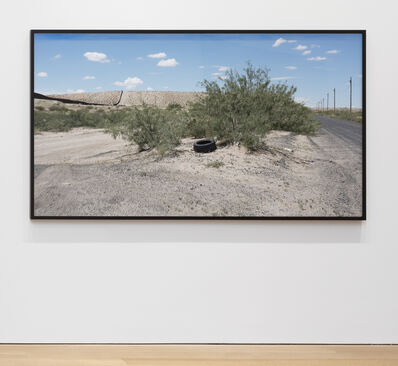 Willie Doherty, 'At The Border, Fixed Limit (Cast No Shadow, Leave No Trace) Anapra Road, New Mexico', 2017