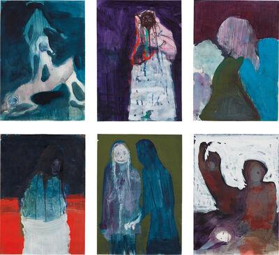 Gert & Uwe Tobias, 'Untitled (Group of Six Drawings)', 2005