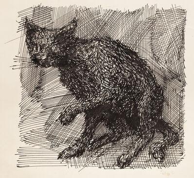 Domenico Gnoli, 'Le Chat', n.d.