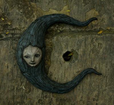 Scott Radke, 'Crescent moon (right facing)', 2018