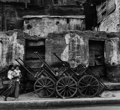 Mario Algaze, 'Carretas, Cuidad Guatemala', 1979-printed later