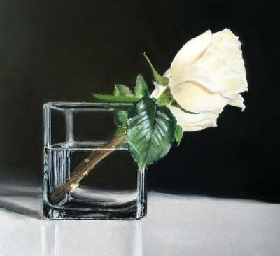 Diane Rudnick Mann, 'Two Roses'