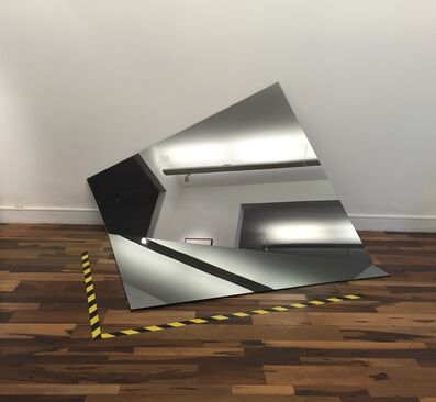 Iran do Espírito Santo, 'Folded mirror', 2011