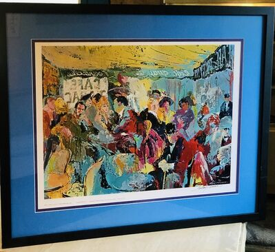 LeRoy Neiman, 'Cafe Rive Gauche - Paris Sidewalk Cafe', 1991