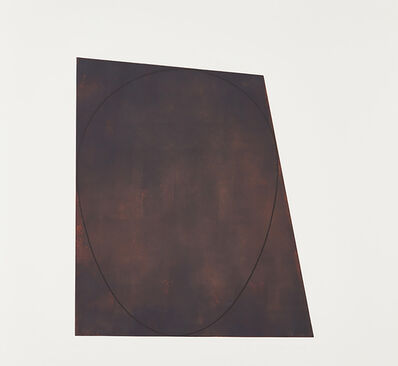 Robert Mangold (b.1937), 'IV, from Attic series I', 1991