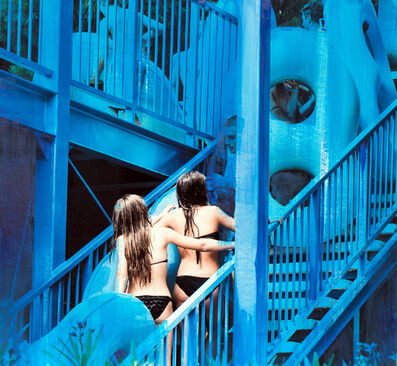 Eva Blanch, 'Azul gemelas', 2019