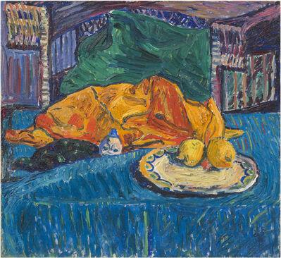 Cuno Amiet, 'Stillleben mit Zitronen', 1908