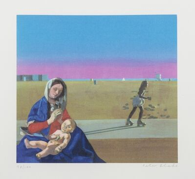 Peter Blake, 'Madonna on Venice Beach', 1996