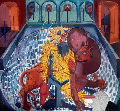 Tincuta Marin, 'Bigfoot and the Lion', 2021