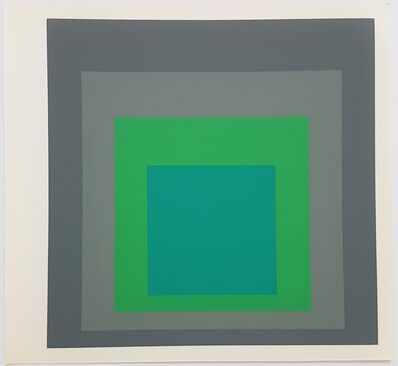 Josef Albers, 'Homage to the Square: Renewed Hope', 1977