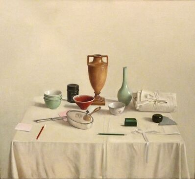 Raymond Han, 'Classical Vase & Rice Bowls', 1983