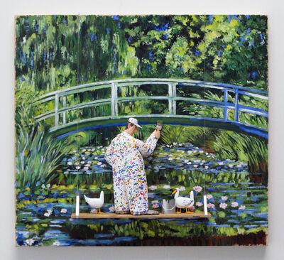 Stephen Hansen, 'Water Lilies and Japanese Bridge: Monet', 2016