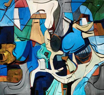 Vik Muniz, 'Surfaces: Haru, after Burle Marx', 2020