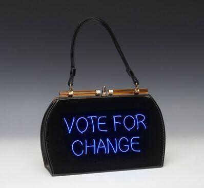Michele Pred, 'Vote for Change', 2020