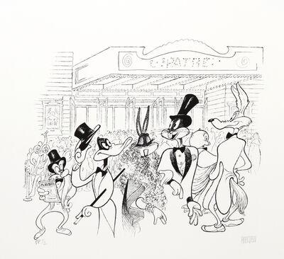 Al Hirschfeld, 'Warner Brothers at the Theatre'
