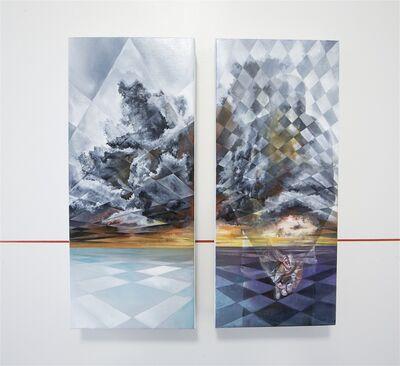 Vesod, 'Horizon 2.1 (diptych)', 2016