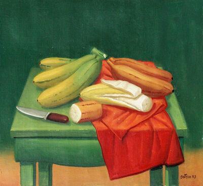 Fernando Botero, 'Still Life with Bananas', 2003
