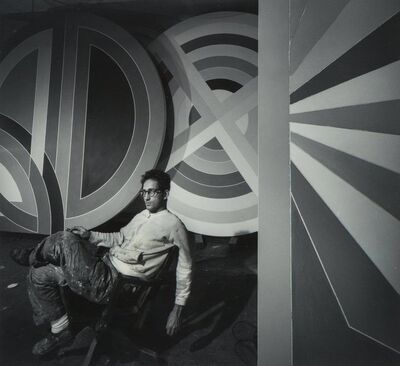 Arnold Newman, 'Frank Stella', 1967-printed later
