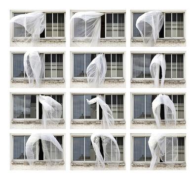 Niloufar Banisadr, 'Voiles aux vents (Sexy Window) - Installation (12 photos)', 2012