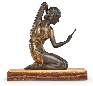 """Demetre Chiparus, 'Art Deco sculpture, """"Coquetry,"""" France', ca. 1925"""