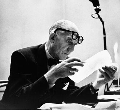 Robert Doisneau, 'Bonjour Monsieur Le Corbusier', 1953