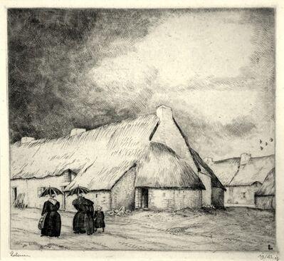 Jean-Emile Laboureur, 'Orage en Briere', 1932