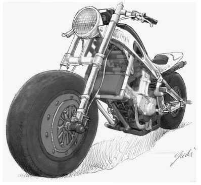 Yudi Sulistyo, 'Motorcycle Design I', 2009