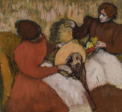 Edgar Degas, 'The Milliners', ca. 1898