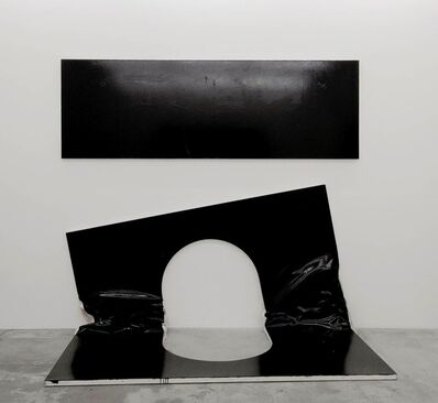 Steven Parrino, 'The Self Mutilation Bootleg 2 (The Open Grave)', 2003