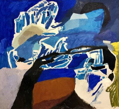 Nicole Maynard-Sahar, 'Alaskan Blue', 2019