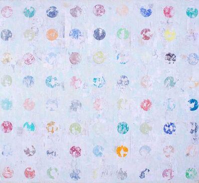 Nicole Charbonnet, 'Erased Hirst (Blue)', 2009-2015